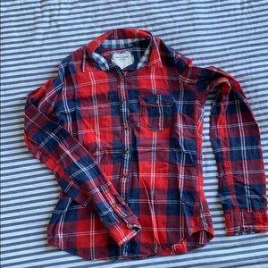 Abercrombie long sleeve flannel